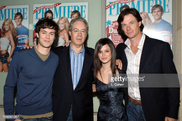 Adam Brody Peter Herbst editorinchief Rachel Bilson and Paul Turcotte vice president/publisher
