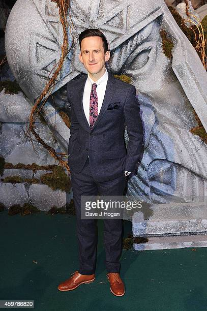 Adam Brown attends 'The Hobbit The Battle Of The Five Armies' World Premiere at Odeon Leicester Square on December 1 2014 in London England