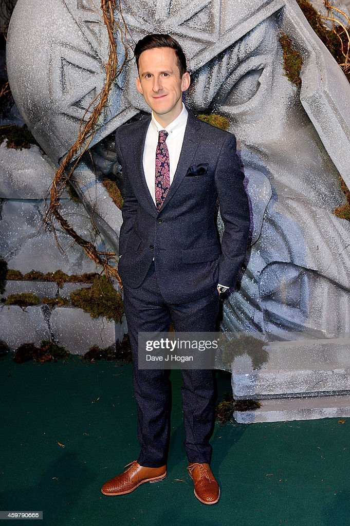 Adam Brown attends 'The Hobbit: The Battle Of The Five Armies' World Premiere at Odeon Leicester Square on December 1, 2014 in London, England.