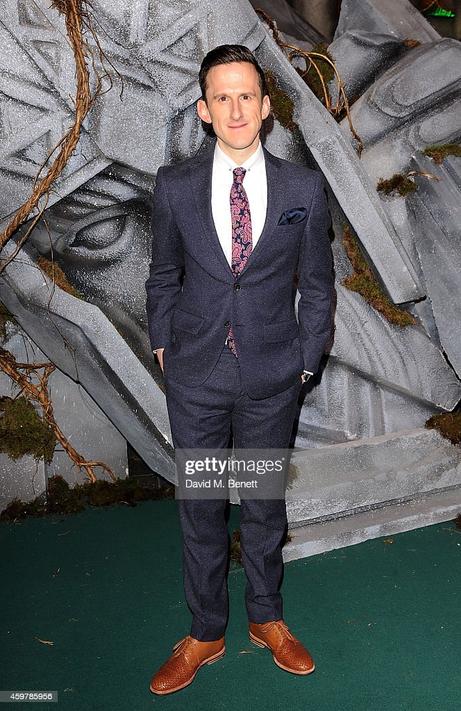 Adam Brown attends the World Premiere of 'The Hobbit: The Battle OF The Five Armies' at Odeon Leicester Square on December 1, 2014 in London, England.