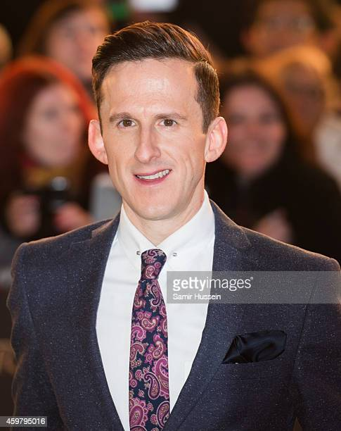 Adam Brown attends the World Premiere of 'The Hobbit The Battle OF The Five Armies' at Odeon Leicester Square on December 1 2014 in London England