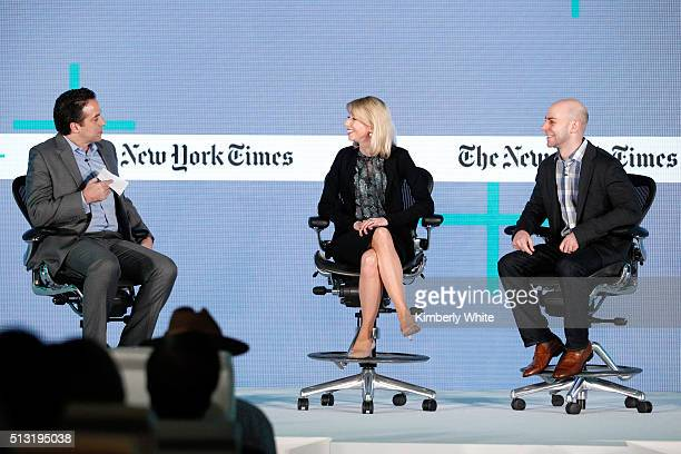Adam Bryant The New York Times Columnist Amy Cuddy Harvard Business School social psychologist and behaviorist and Adam Grant PhD Wharton School of...