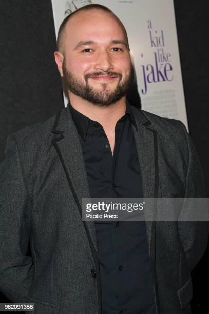 Adam Butterfield attends A Kid Like Jake premiere at The Landmark at 57 West