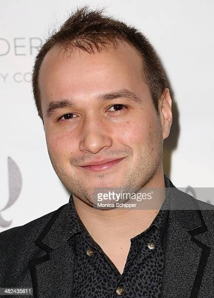 Adam Butterfield attends the Pejic x Snyder Jewelry Line Launch Party at Gilded Lily on April 3 2014 in New York City
