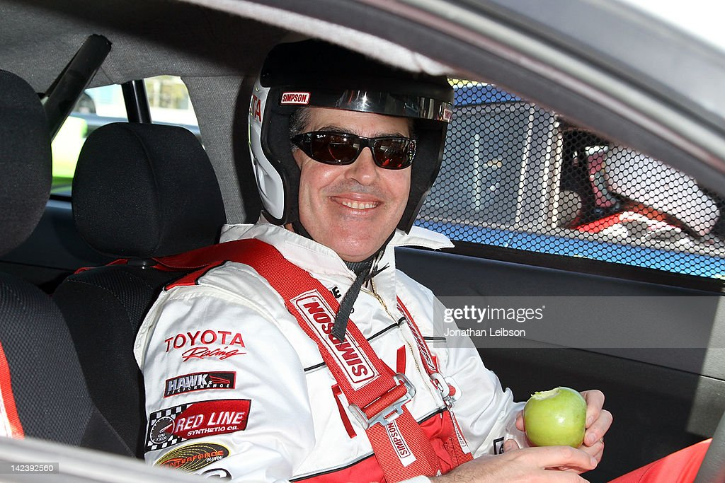 Adam Carolla at the 36th Annual 2012 Toyota Pro/Celebrity Race - Press Practice Day on April 3, 2012 in Long Beach, California.