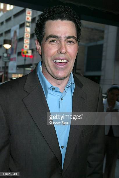 Adam Carolla during 2005/2006 MTV Networks UpFront Departures at Madison Square Garden in New York City New York United States