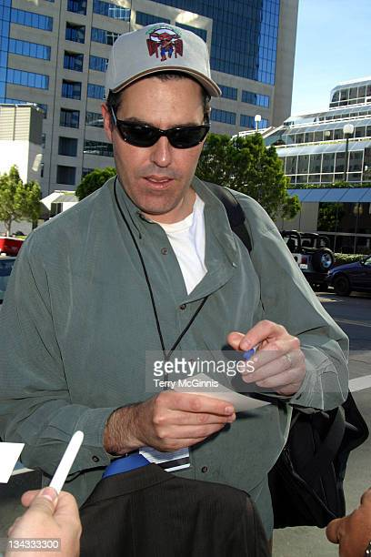 Adam Carolla during Celebrities Pick Up Tickets for Super Bowl XXXVII January 25 2003 in San Diego California United States
