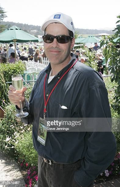 Adam Carolla during General Motors at Concours D'Elegance at Pebble Beach in Pebble Beach, California, United States.