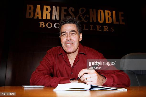 Adam Carolla Signs Copies Of His New Book 'President Me' at Barnes Noble bookstore at The Grove on May 15 2014 in Los Angeles California
