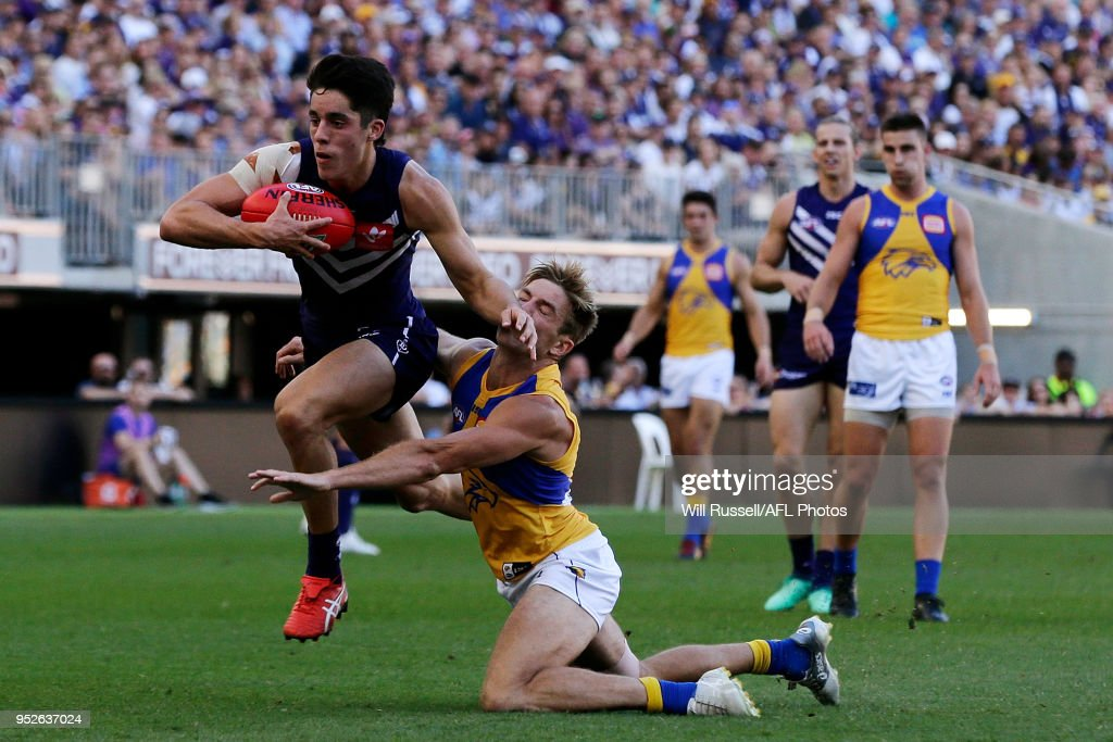 AFL Rd 6 - Fremantle v West Coast : News Photo