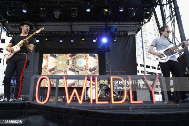 Wildly performs on Huntridge Stage during the 2018 Life Is Beautiful Festival on September 23 2018 in Las Vegas Nevada