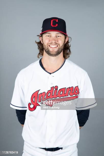 Adam Cimber of the Cleveland Indians poses during Photo Day on Thursday February 21 2019 at Goodyear Ballpark in Goodyear Arizona