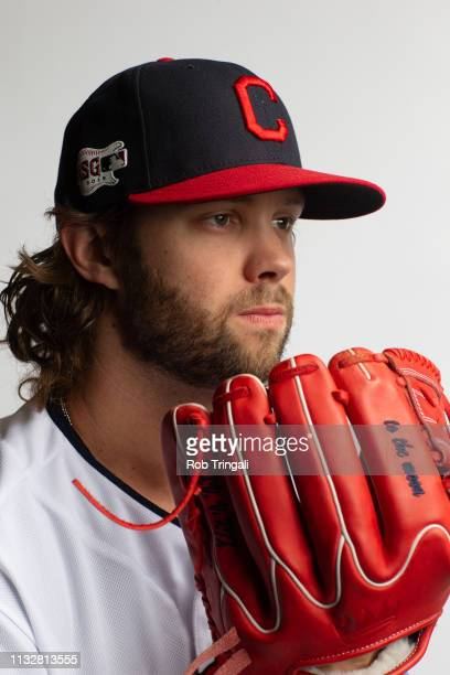 Adam Cimber of the Cleveland Indians poses for a portrait at the Cleveland Indians Player Development Complex on February 21 2019 in Goodyear Arizona