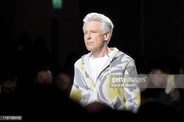 Adam Clayton attends 'Hermes Step Into The Frame' at Nine Elms on March 21 2019 in London England