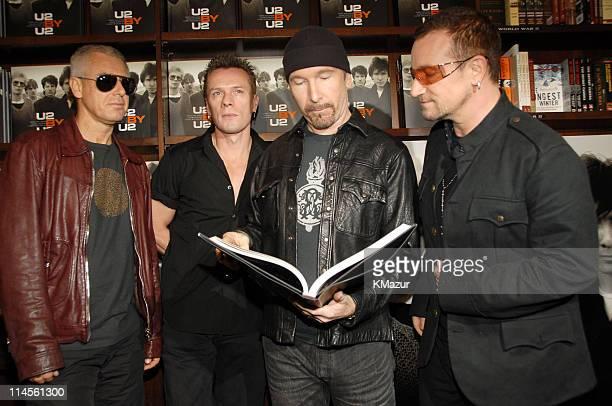 Adam Clayton Larry MullenThe Edge and Bono of U2