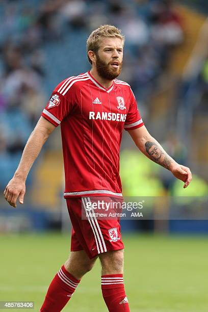 Adam Clayton of Middlesbrough during the Sky Bet Championship match between Sheffield Wednesday and Middlesbrough at Hillsborough on August 29 2015...