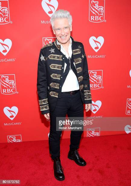 Adam Clayton of U2 attends 13th Annual Musicares MAP Fund Benefit Concert Honoring Adam Clayton at PlayStation Theater on June 26 2017 in New York...
