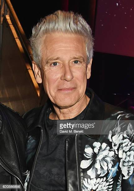 Adam Clayton of U2 attends a drinks reception at The Stubhub Q Awards 2016 at The Roundhouse on November 2 2016 in London England