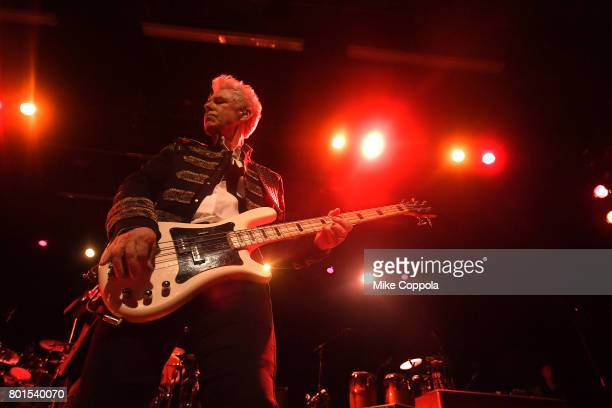 Adam Clayton of U2 performs on stage at the 13th Annual MusiCares MAP Fund Benefit Concert at the PlayStation Theater on June 26 2017 in New York...
