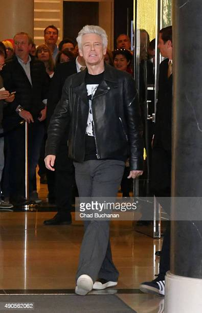 Adam Clayton of U2 sighted at the Waldorf Astoria Hotel on September 29 2015 in Berlin Germany