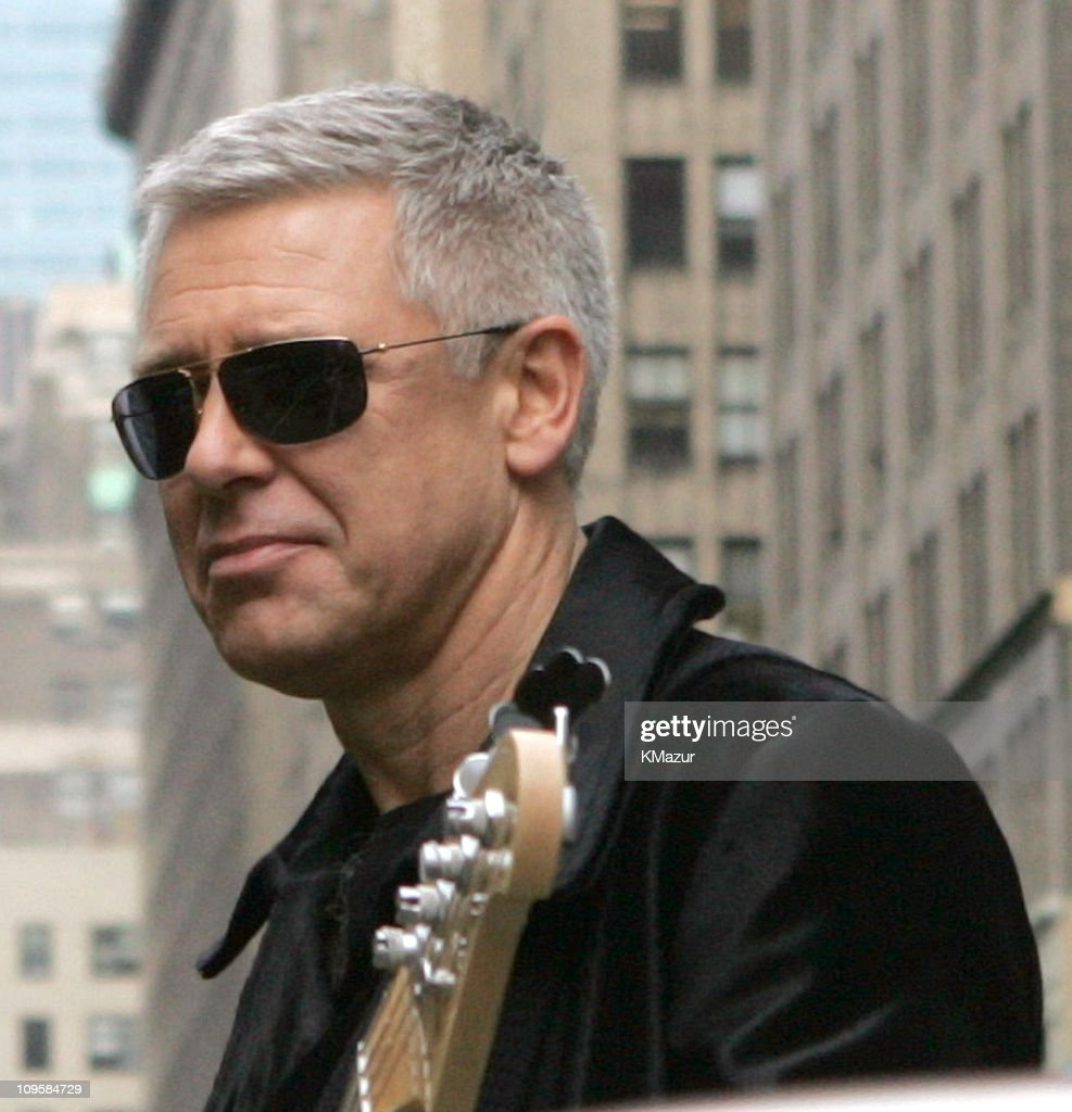 Adam Clayton of U2 spends the day on the streets of New York