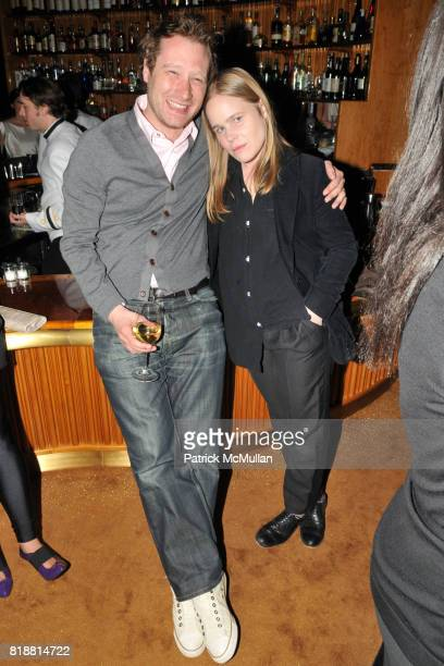 Adam Cohen and Hanna Liden attend ART PRODUCTION FUND Birthday Benefit at On Top of the Standard on April 12 2010 in New York City