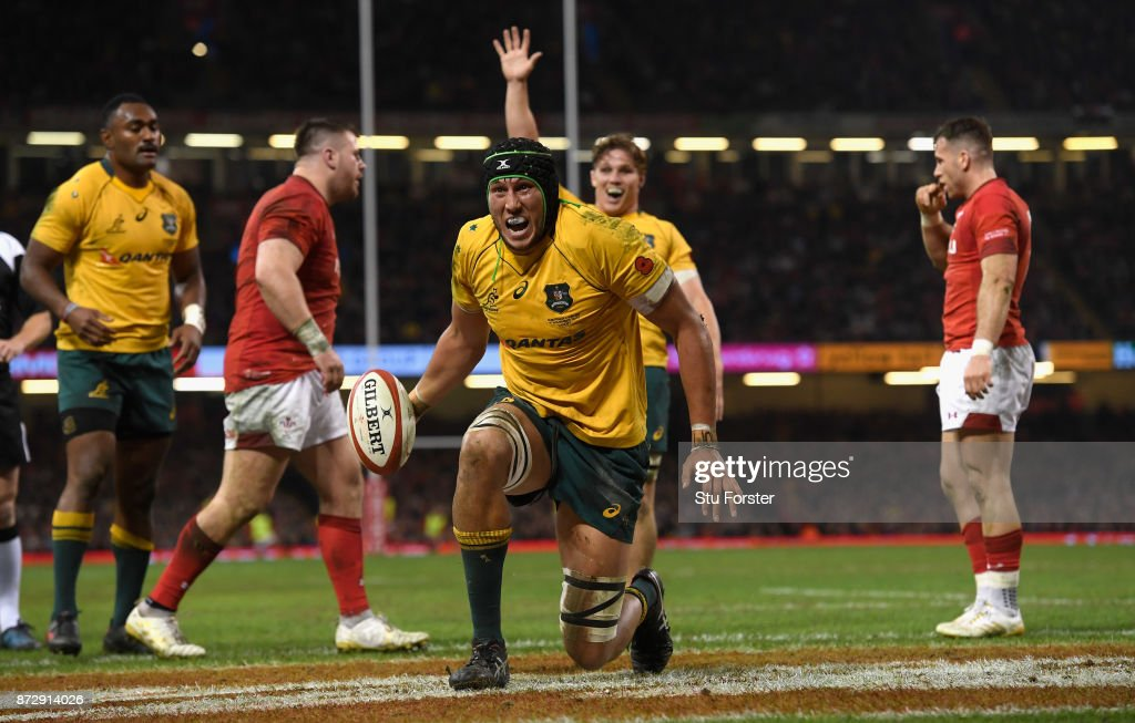 Wales v Australia - Under Armour Series 2017 : News Photo