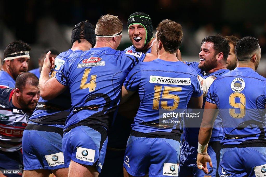 Super Rugby Rd 16 - Force v Rebels : News Photo