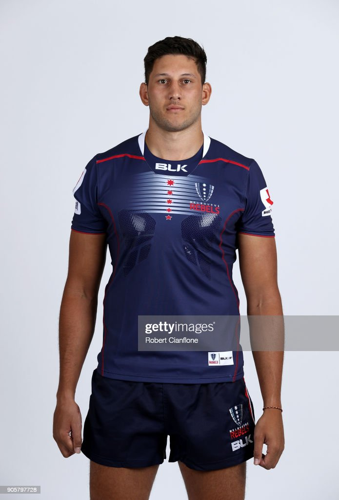 Melbourne Rebels Headshots Session