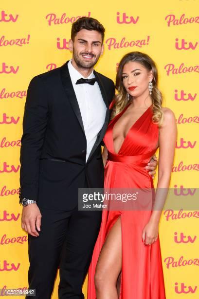 Adam Collard and Zara McDermott attend the ITV Palooza held at The Royal Festival Hall on October 16 2018 in London England