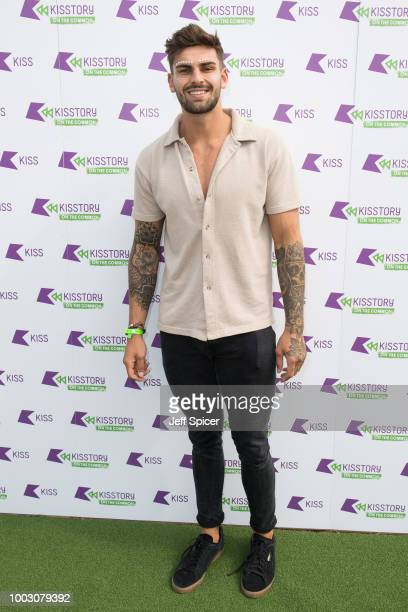 Adam Collard attends Kisstory On The Common 2018 at Streatham Common on July 21 2018 in London England