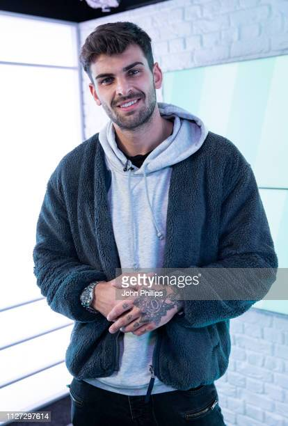 Adam Collard poses for photos during his visit to Heat Radio on February 04 2019 in London England