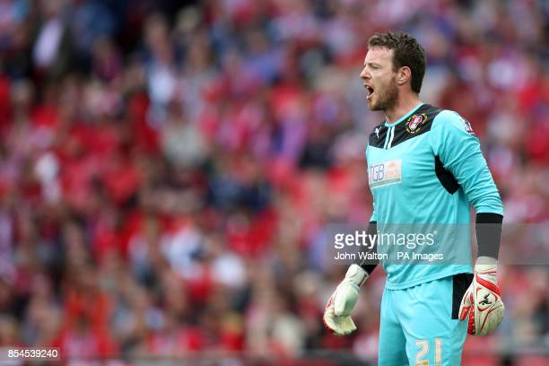 Adam Collin Rotherham United goalkeeper