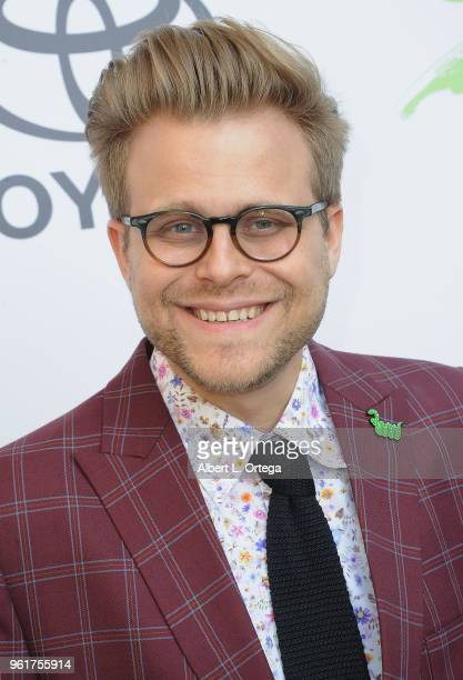 Adam Conover arrives for the 28th Annual EMA Awards Ceremony held at Montage Beverly Hills on May 22 2018 in Beverly Hills California