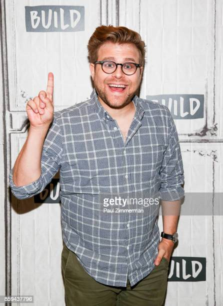 Adam Conover attends Build Presents Discussing 'Adam Ruins Everything' at Build Studio on October 9 2017 in New York City