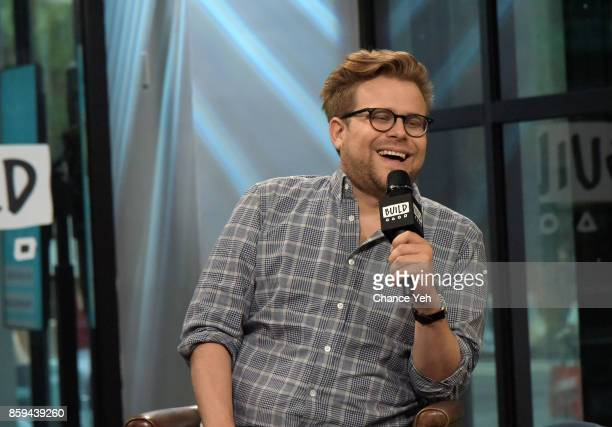 Adam Conover attends Build series to discuss 'Adam Ruins Everything' at Build Studio on October 9 2017 in New York City