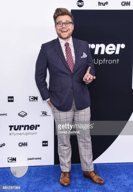 Adam Conover attends the 2017 Turner Upfront at Madison Square Garden on May 17 2017 in New York City