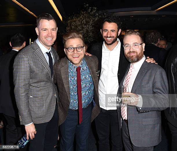 Adam Conover attends Turner Upfront 2016 reception at The Theater at Madison Square Garden on May 18 2016 in New York City