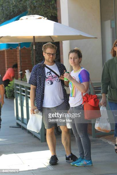Adam Conover is seen on September 12 2017 in Los Angeles California