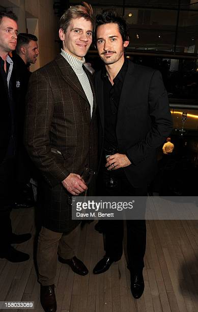 Adam Cooper and Will Kemp attend an after party following the press night performance of Matthew Bourne's Sleeping Beauty at Sadler's Wells Theatre...