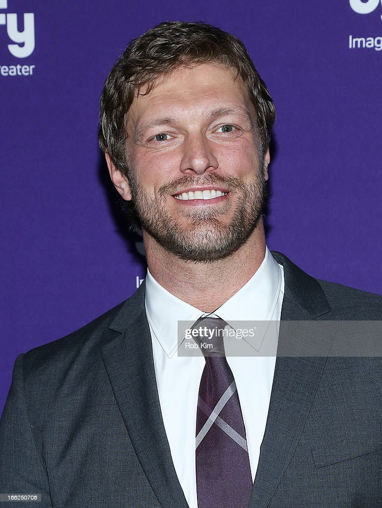 Adam Copeland of 'Haven' attends Syfy 2013 Upfront at Silver Screen Studios at Chelsea Piers on April 10, 2013 in New York City.