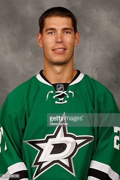 Adam Cracknell of the Dallas Stars poses for his official headshot for the 20162017 season on September 22 2016 at the Dr Pepper Star Center in...