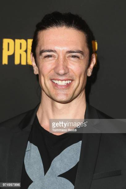 Adam Croasdell attends the AMC's 'Preacher' Season 3 Premiere Party at The Hearth and Hound on June 14 2018 in Los Angeles California