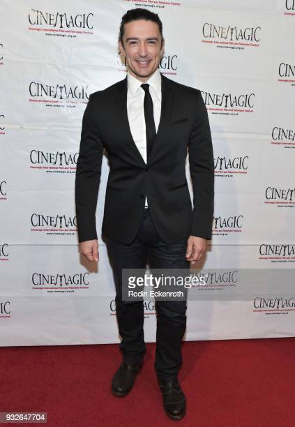 Adam Croasdell attends the Cinemagic Annual Gala at The Fairmont Miramar Hotel Bungalows on March 15 2018 in Santa Monica California
