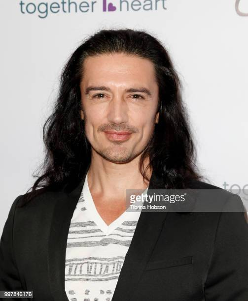 Adam Croasdell attends the Kings and Queens Art Exhibition at Hills Penthouse on July 12 2018 in West Hollywood California