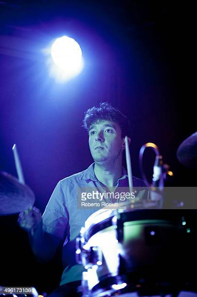Adam Crofts of The Crookes performs on stage at The Liquid Room on November 7 2015 in Edinburgh Scotland