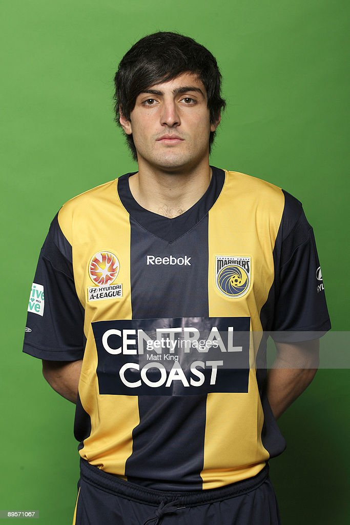 Adam D'Apuzzo poses during the official Central Coast Mariners 2009/10 Hyundai A-League headshots session at Bluetongue Stadium on July 7, 2009 in Gosford, Australia.