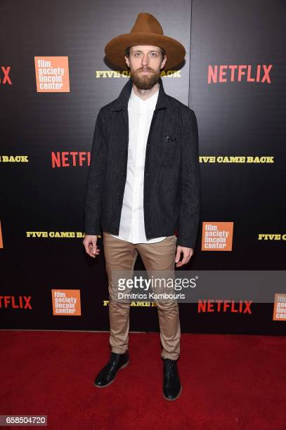 Adam David Thompson attends the Five Came Back world premiere at Alice Tully Hall at Lincoln Center on March 27 2017 in New York City