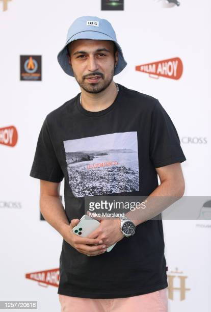 """Adam Deacon attends the """"Break"""" Drive-In World Premiere at Brent Cross Shopping Centre on July 22, 2020 in London, England."""