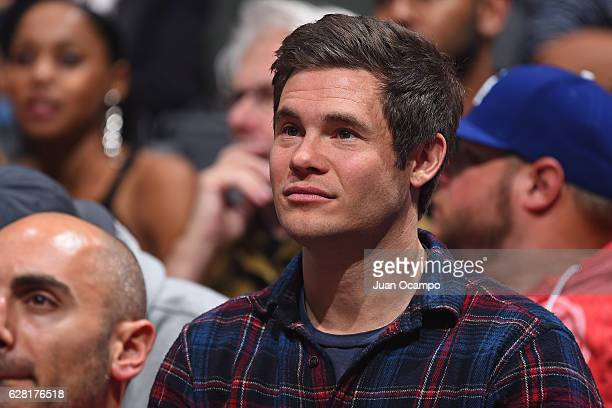 Adam DeVine attends the game between the Detroit Pistons and the LA Clippers on November 7 2016 at the STAPLES Center in Los Angeles California NOTE...